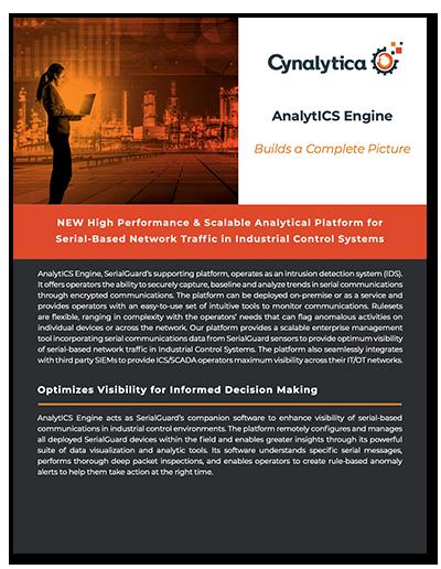 AnalytICS Engine Product Sheet
