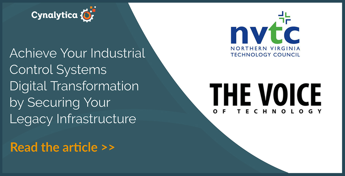 Achieve Your Industrial Control Systems Digital Transformation by Securing Your Legacy Infrastructure